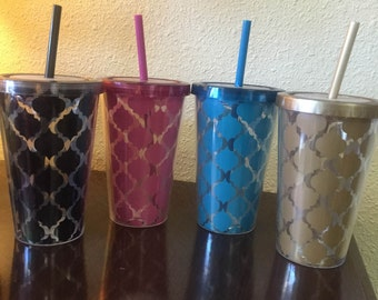 Decorative Plasic Cup