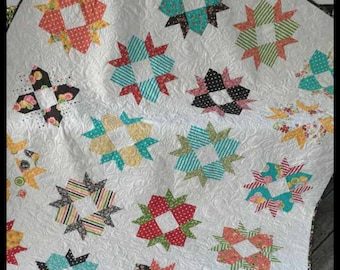PDF Cake Blossoms Layer Cake Friendly Quilt Pattern