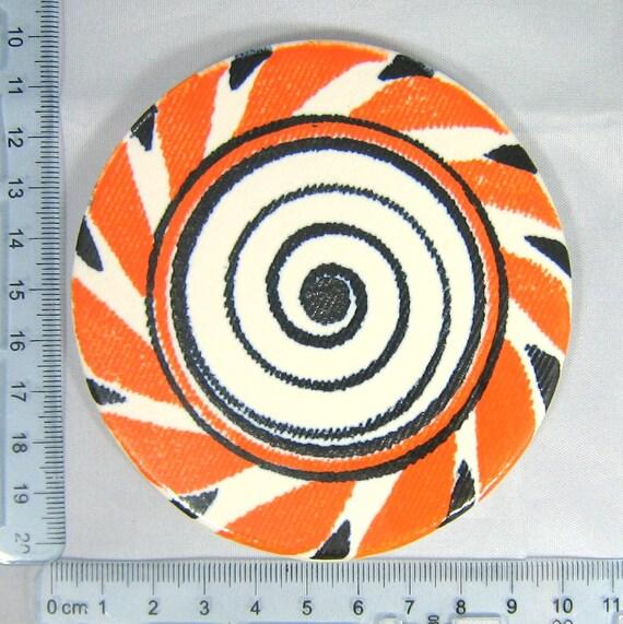 3 74 Quot Hand Glazed Lollipop Ceramic Multicolored Mosaic