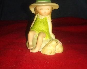 Holly Hobbie Vintage Figurine