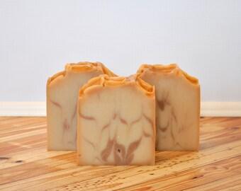 Vanilla Rosewood Artisan Soap Bar, Vegan Soap Bar, Cold Process Soap, Soap Bar