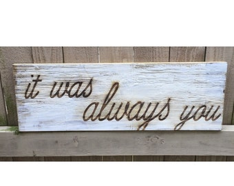 Custom quote sign