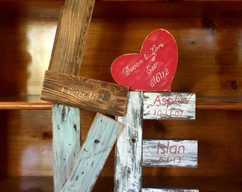 Unique reclaimed wood LOVE sign!