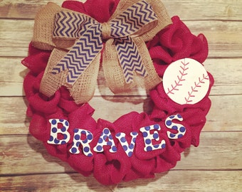 Atlanta Braves Wreath
