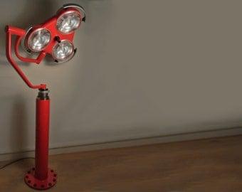 INDUSTRIËLE LAMP Red Devil Lamp