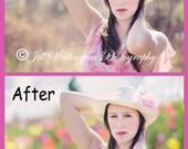 DIGITAL Spring Bokeh Overlays, set of 5 overlays, for photographers, photography, photos