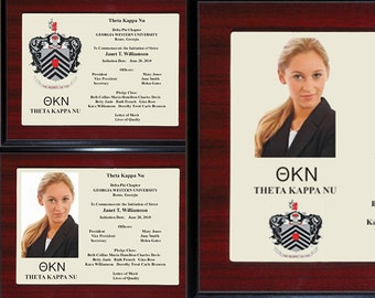 Fraternity and Sorority - Unique Personalized Engraved Gift Plaques