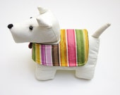 Cute dog doorstop toy quick and easy Christmas gift sewing pattern
