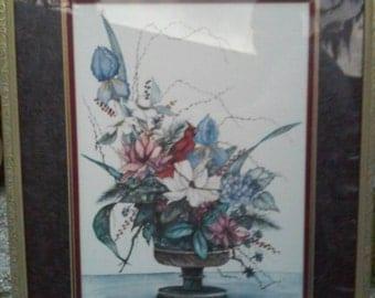 "A.Renee Dollar very rare Lg. Watercolor (30""x36"")"