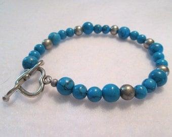 The Turquoise Heart Bracelet
