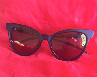 "Cat- Eye Sunglasses ""Le Femme"""
