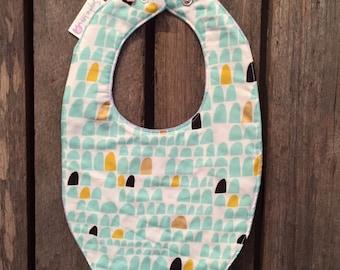 Handmade Reversible Baby Bib