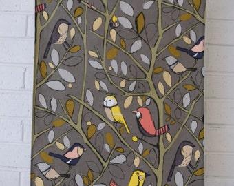 100% Cotton Tea Towel with Gorgeous Bird Print