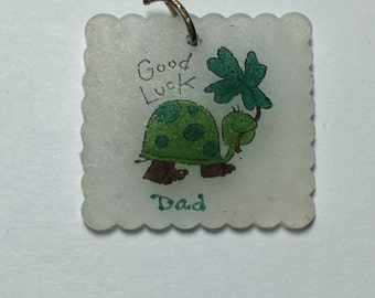 Good Luck Dad! Turtle Shrinky Dink 9339