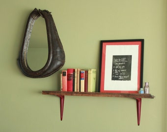 Antique Horse Harness Mirror