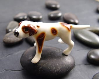 POINTER DOG MINITURE Figurine