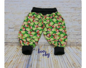 An apple a day... Harem trousers