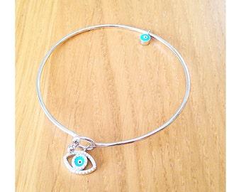 """Turkish eye"" bracelet"