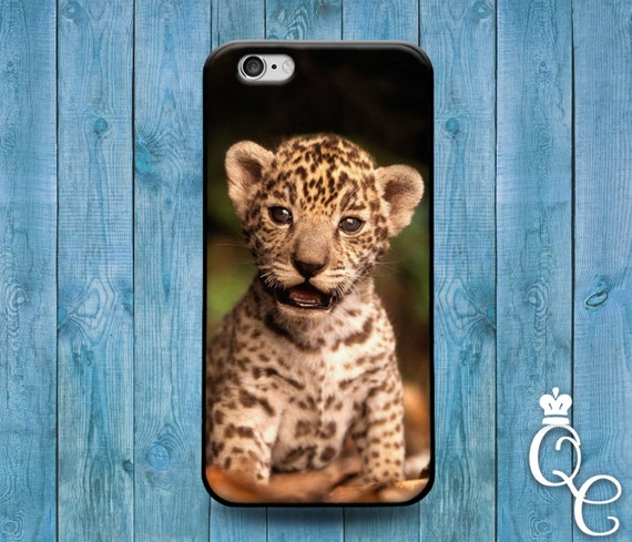 iPhone 4 4s 5 5s 5c SE 6 6s 7 plus iPod Touch 4th 5th 6th Generation Cute Animal Cover Cool Baby Cheetah Cat African Africa Phone Case