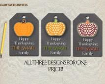 Thanksgiving Favor Tags, Thanksgiving, Thanksgiving Thank You Tag,Thanksgiving Gift, Thanksgiving Decor, Fall Thank You Tag, Fall Favor Tag