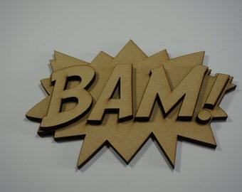 Comic Book BAM Cutout Kit