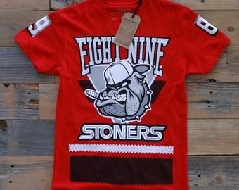 Bulldog Jersey T Shirt Bulls
