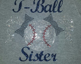 T-ball Sister tshirt