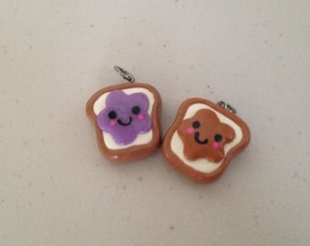 PB & J Friendship Charms