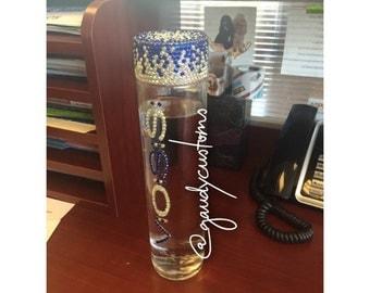 Large Bling Voss Water Bottle (800 ml)