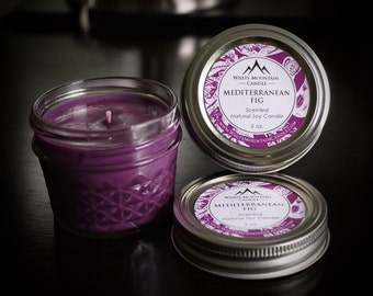 Mediterranean Fig Scented Soy Candle & Wax Melts