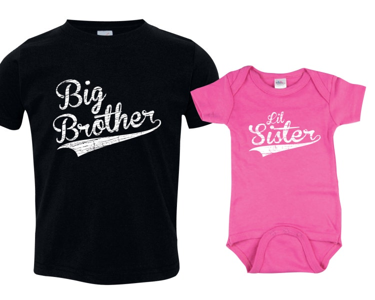 Big Brother Little Sister Set Big Brother Shirt By