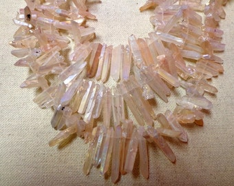 Peach colored Quartz