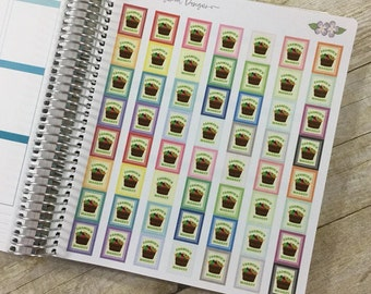 Beautiful Farmers Market Stickers for your Planner