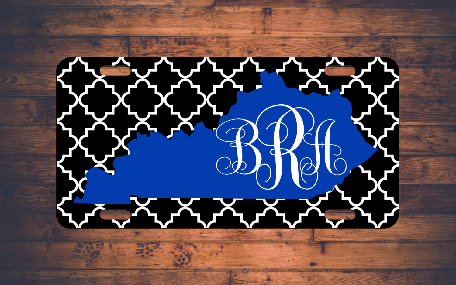 Design your own t shirt louisville ky - Kentucky Monogram License Plate Car Tag Uk Wildcats Ky Custom Chevron Monogrammed Tag Customized Personalized Gift Customize Your Own