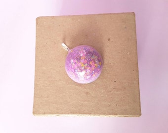 Pastel GLITTER and Sparkles Misty Pendant Cute Kawaii