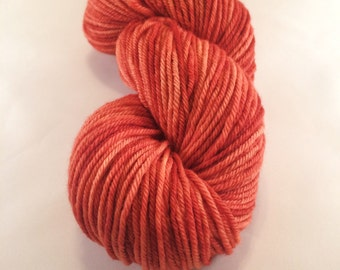 Rust - Rollerball Worsted Weight Yarn