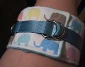 RESERVED Pastel Elephant Thigh Cuffs