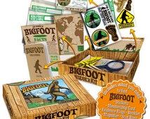 Bigfoot Sasquatch Boxed Up Seattle Care Package Gift Box for Residents and former Seattleites