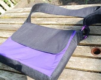 Nikki Babywearing bag. Adjustable strap, ring slings, messenger bag,