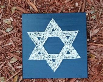 Star of David String Art