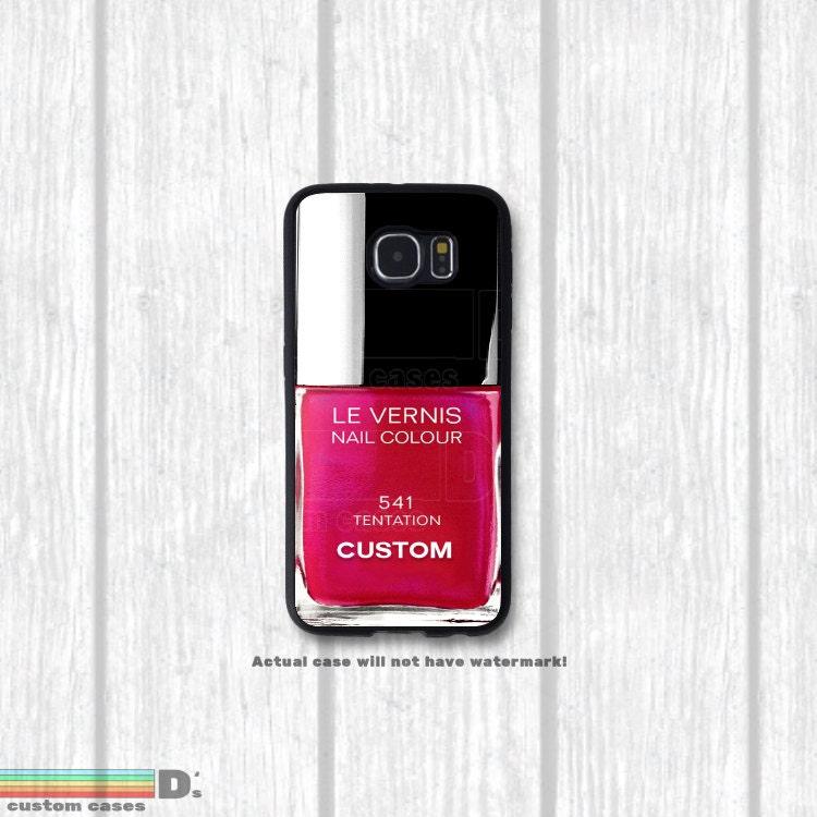 Marble Nail Polish Phone Case: Nail Polish Phone Case 33 Colors Customizable By DsCustomCases