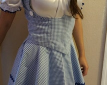 Wizard Of Oz Costumes/ Sexy Dorothy Costume/ Halloween
