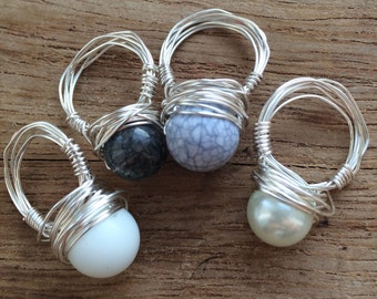Special Limited Edition Wire Wrap Rings