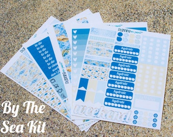 HUGE SALE! By The Sea Planner Kit (for Vertical Erin Condren Life Planner)