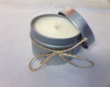 4 oz soy candle - Hand Poured - Pick your Scent