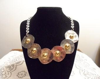 Vintage Shield Design Necklace