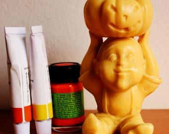 Halloween, sculpture gnome, halloween decorations pumpkin, halloween outdoor, halloween jewelry