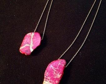 Kintsugi Pink Necklace