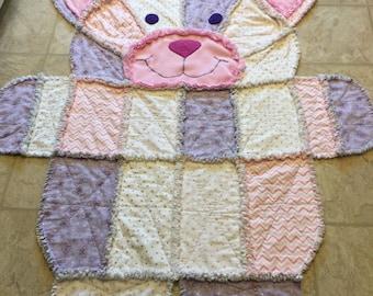 Meggie the cat quilt