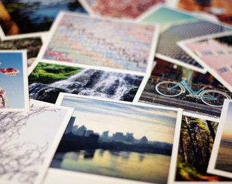 "Any Two 5"" x 5"" Prints, Fine Art Photography, Wall Art Decor"